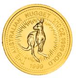 1/10 Oz. Australien - Nugget/Känguru 1999