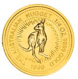 1/4 Oz. Australien - Nugget/Känguru 1999