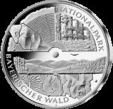 10 Euro - Nationalpark Bayrischer Wald (2005 - Spgl.)