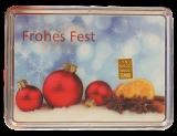 1 Gramm Goldbarren (Weihnachten)