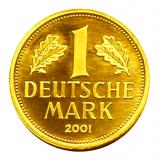 1 DM BRD - Goldmark 2001  -  J