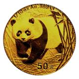1/10 Oz. China - Panda 2001