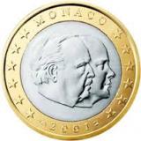 1 Euro - Monaco 2001