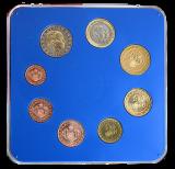 Euro-Kursmünzenset Monaco 2001 (1. Ausgabejahr)