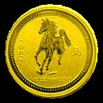 1/10 Oz. Australien - Pferd 2002 (Lunar I)