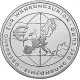10 Euro - Einführung des Euro  (2002)