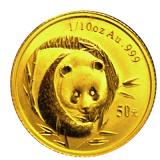 1/10 Oz. China - Panda 2003
