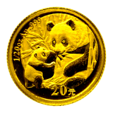 1/20 Oz. China - Panda 2005