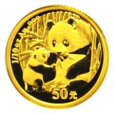 1/10 Oz. China - Panda 2005