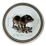 2 Oz. Australien - Schwein 2007 (Lunar I)