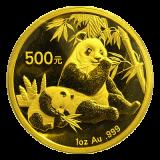 1 Oz. China - Panda 2007