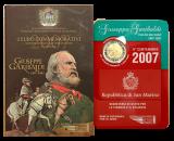 San Marino - 2 Euro 2007 - Giuseppe Garibaldi