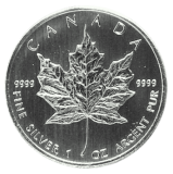 1 Oz. Canada - Maple Leaf