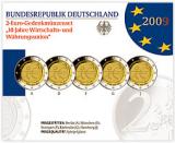 2 Euro Gedenkmünzenset 2009 - 10 Jahre Wirtschafts- und Währungsunion