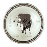 1 Oz. Australien - Ochse 2009 (Lunar I)