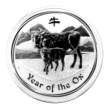 1 Oz. Australien - Ochse 2009 (Lunar II)