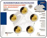2 Euro Münzenset 2009 - Saarland