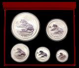 0,50 Oz. - 10 Oz. Australien - Tiger 2010 (Lunar II) in Box