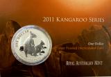 1 Oz. Australien - Kangaroo 2011 (im Blister)