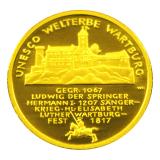 100 Euro BRD - Wartburg 2011 - D