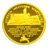 100 Euro BRD - Wartburg 2011 - A
