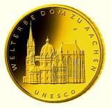 100 Euro BRD - Dom zu Aachen 2012  -  D