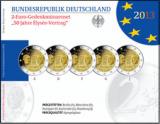 2 Euro Gedenkmünzenset 2013 - 50 Jahre Elysee-Vertrag