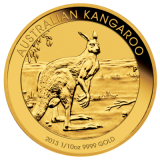1/10 Oz. Australien - Nugget/Känguru 2013