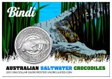 "1 Oz. Australien - Salzwasser-krokodil ""Bindi"" - 2013"