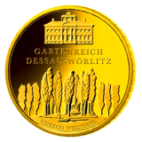 100 Euro BRD - Gartenreich Dessau 2013  -  D