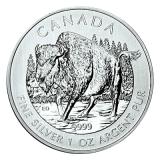 1 Oz. Canada - Bison 2013