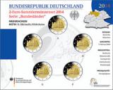 2 Euro Münzenset 2014 - Niedersachsen