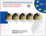 2 Euro Gedenkmünzenset 2015 - 25 Jahre Dt. Einheit