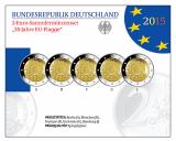 2 Euro Gedenkmünzenset 2015 - 30 Jahre EU-Flagge