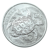 2 Oz. Niue - Turtle 2016