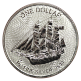 1 Oz. Cook Islands  - 2018   (Silber 999.9)