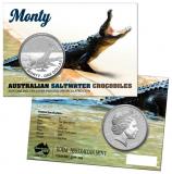 1 Oz. Australien - Salzwasser-Krokodil