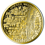 100 Euro BRD - Altstadt Regensburg 2016 - J