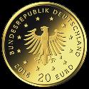 20 Euro BRD - Nachtigall  2016 (D)