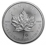 1 Oz. Canada - Maple Leaf 2014