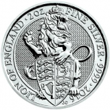 2 Oz. Großbritannien - Lion of England - 2016