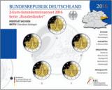 2 Euro Münzenset 2016 - Sachsen
