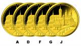 100 Euro BRD - Eisleben und Wittenberg 2017 - A-D-F-G-J