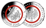 5 Euro BRD - Tropische Zone - 2017  -  F (Stgl.)