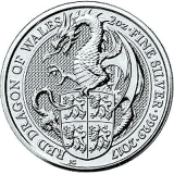 2 Oz. Großbritannien - Red Dragon of Wales - 2017