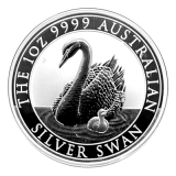 1 Oz. Australien - Silber Schwan 2018 (Perth Mint)