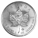 1 Oz. Canada - Maple Leaf 2018