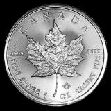 1 Oz. Canada - Maple Leaf 2018