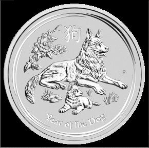 1 Oz. Australien - Hund 2018 (Lunar II)