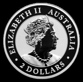 """2 Oz. Australien - AUSTRALIAN NUGGET """"Hand of Faith"""" 2020 (2. Motiv)"""